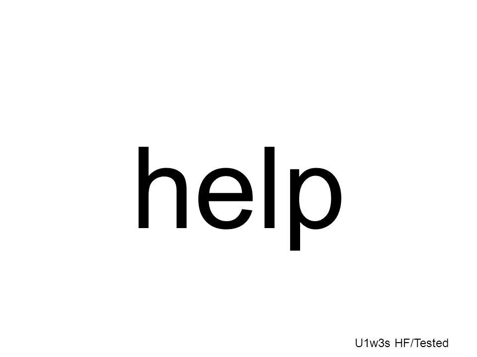 help U1w3s HF/Tested