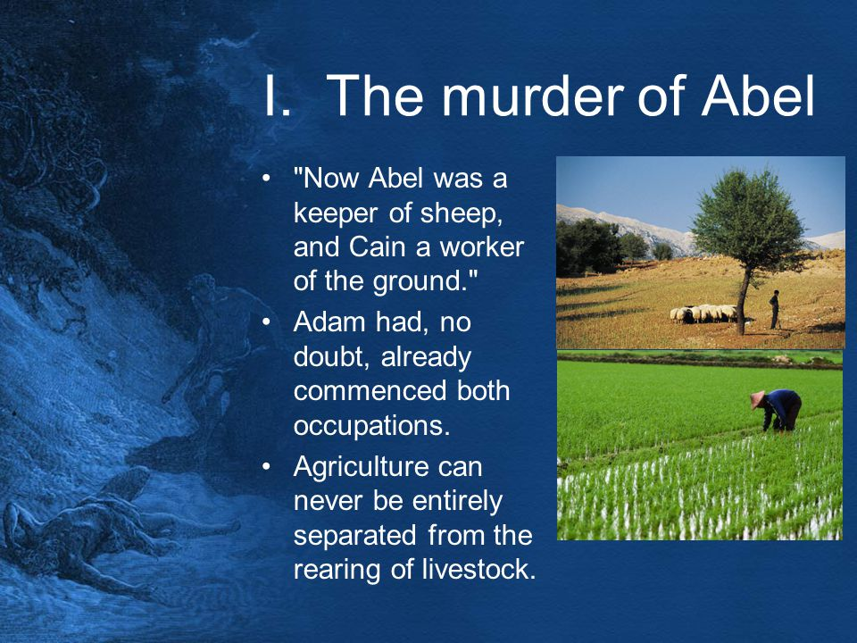 I. The murder of Abel