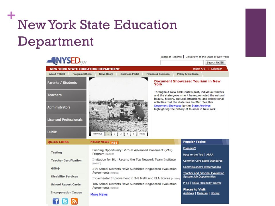 + New York State Education Department