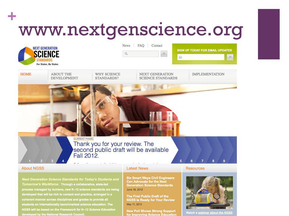+ www.nextgenscience.org