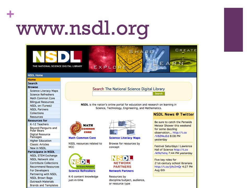 + www.nsdl.org