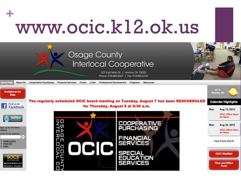 + www.ocic.k12.ok.us