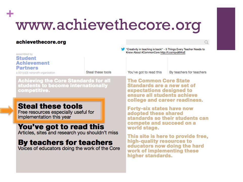 + www.achievethecore.org