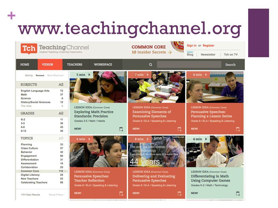+ www.teachingchannel.org