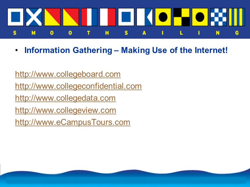 Information Gathering – Making Use of the Internet.