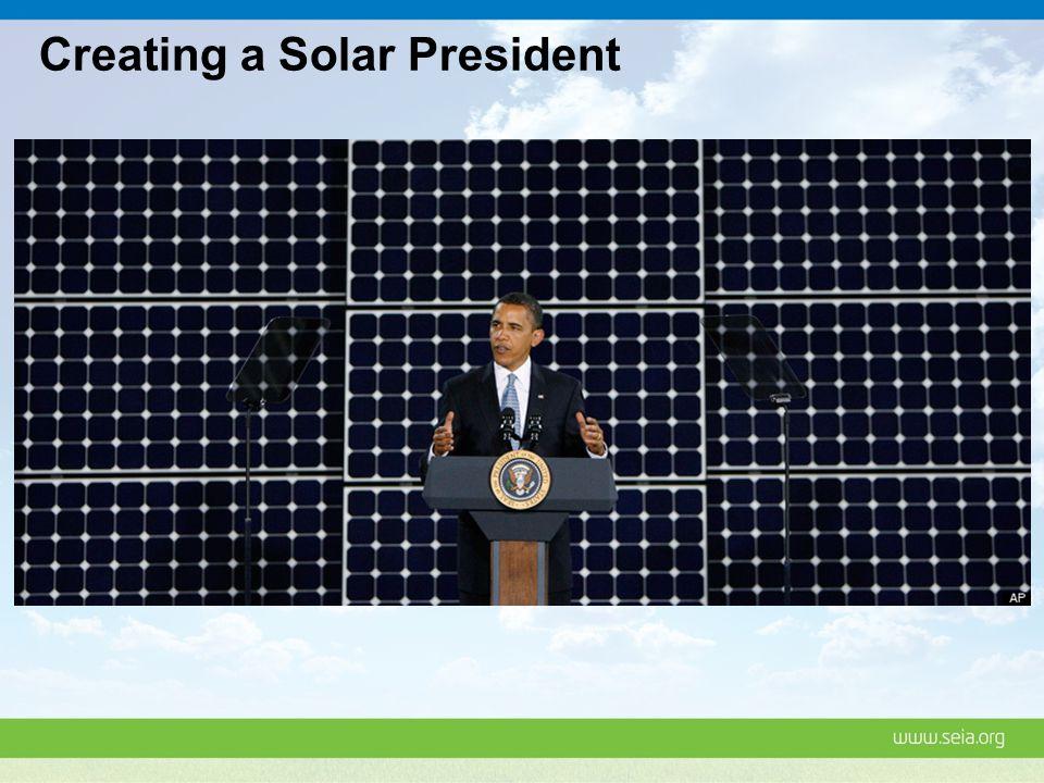 Creating a Solar President