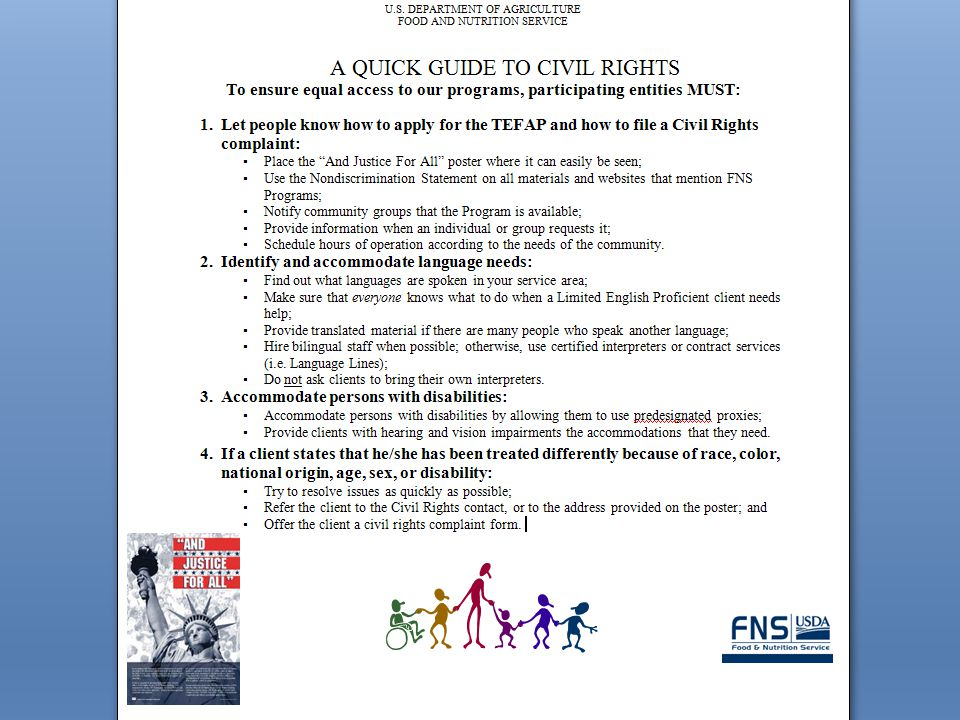 Quick Guide to Civil Rights