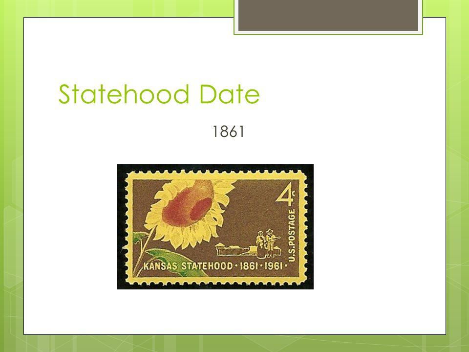 Statehood Date 1861