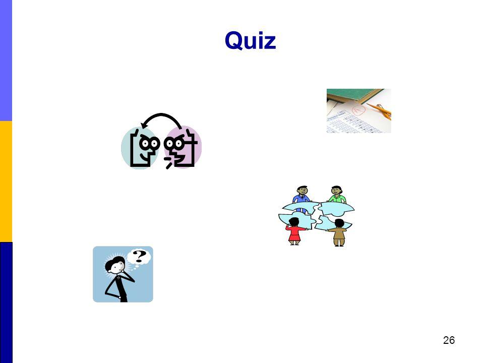 Quiz 26