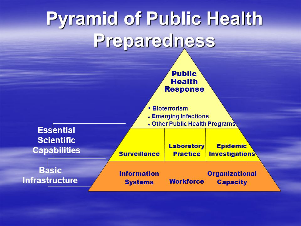 Strategic National Stockpile Concept  Biological or chemical agent released  Civilians may require large quantities of pharmaceuticals or medical supplies  State/local governments have limited funding to create maintain stockpiles  HHS Bioterrorism Initiative in 1999