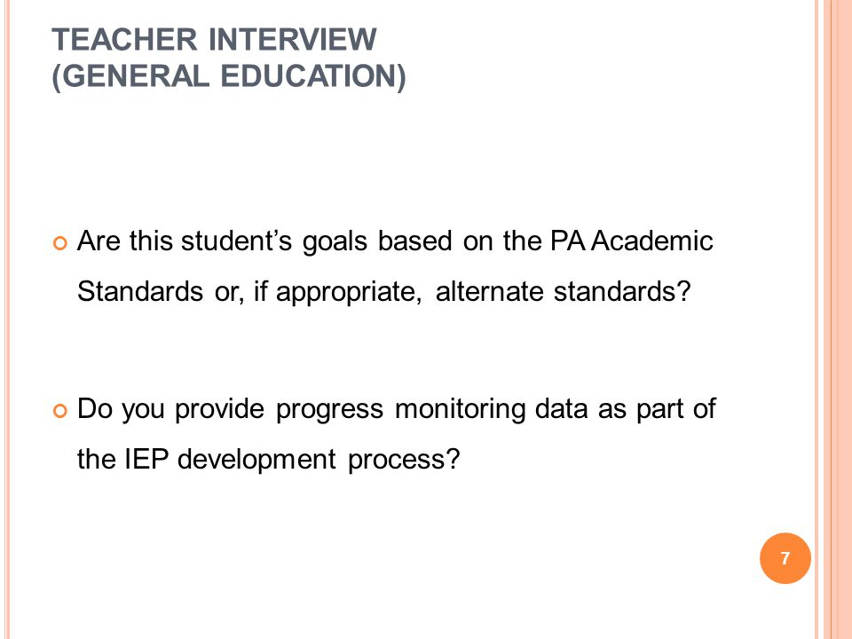 EBR DECISION In Year 3, are there programs and services to support all of the student s goals and objectives.
