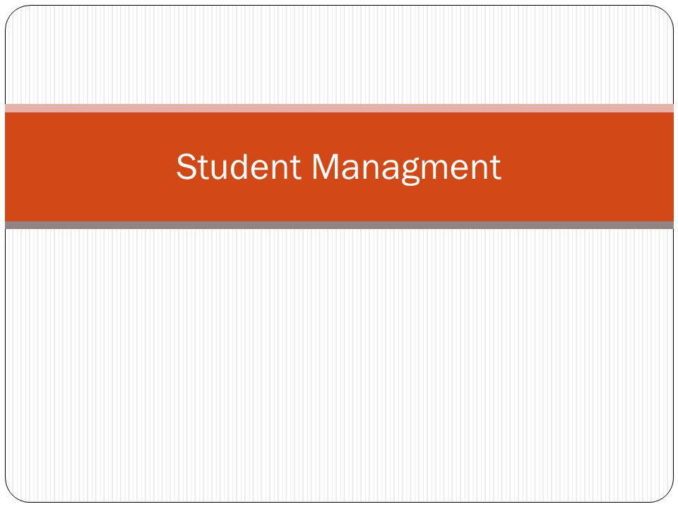 Student Managment
