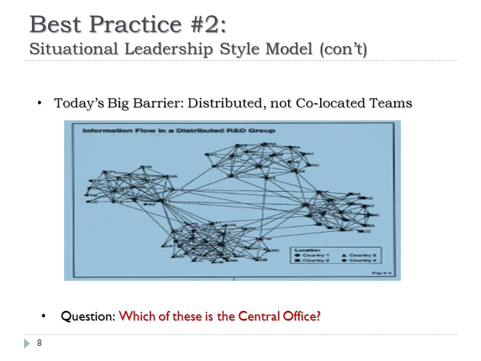 Best Practice #2: PM Leadership Style View 9 high Concern forHow will thisLet's discuss how to… Relationshipsmake the boat (projectedgo faster.