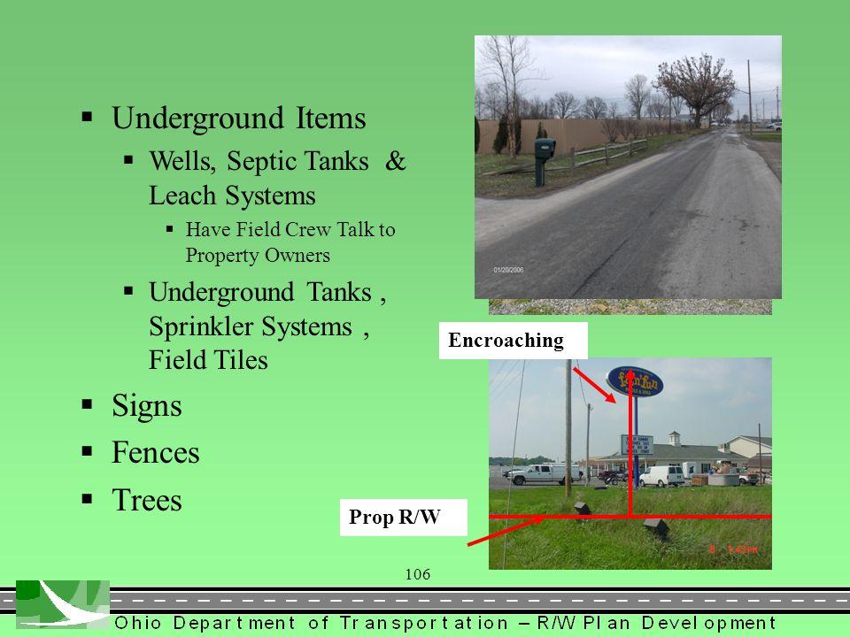 147 Field Review by R/W Plan Designer