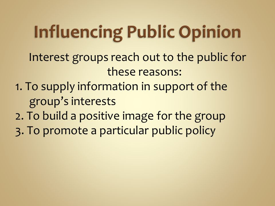 Propaganda is a technique of persuasion aimed at influencing individual or group behaviors.