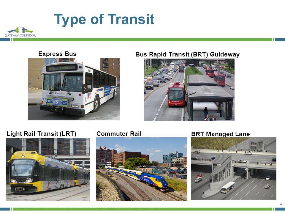 Alternatives 3 & 5: Hudson Road/I-94 BRT or LRT