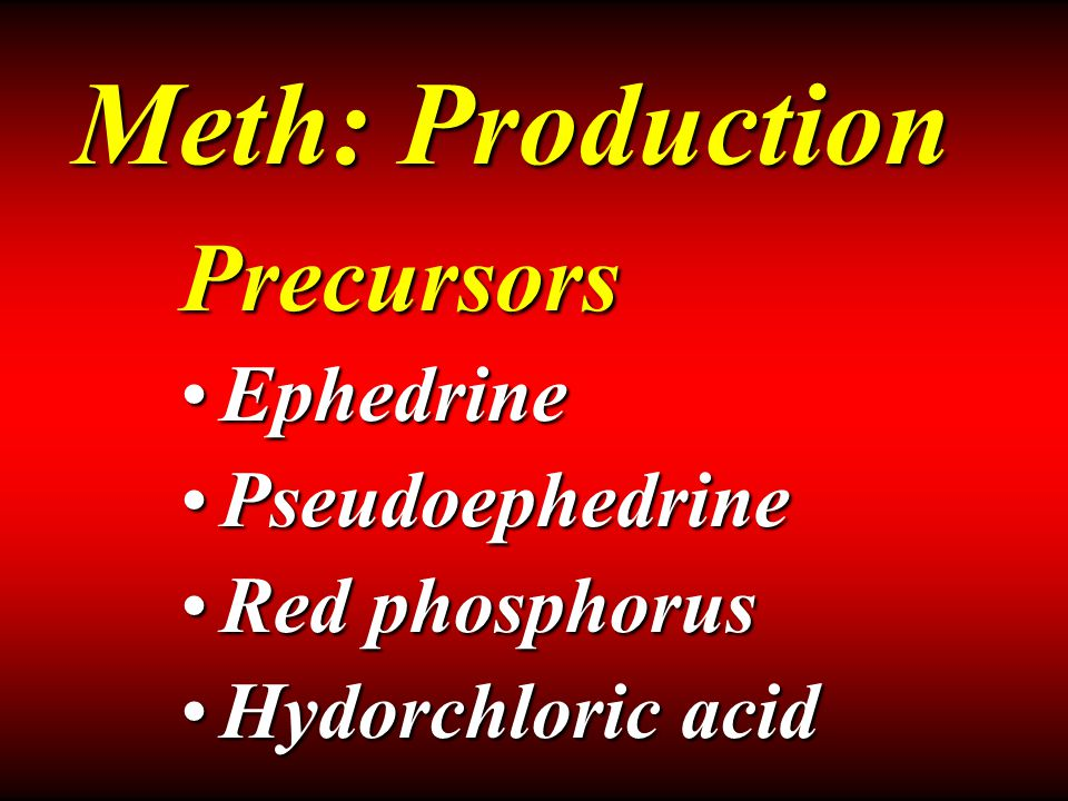 Overdose ABC's – call 911ABC's – call 911 Control blood pressureControl blood pressure Agitation – ValiumAgitation – Valium Fever – DantroleneFever – Dantrolene Meth: Treatment
