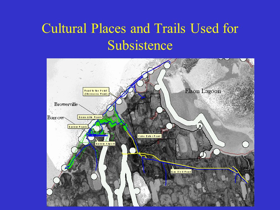 Tribal Consultation EJ Information Gathering –Based on current demographics –Based on cultural data (which probably includes subsistence sites, tradit