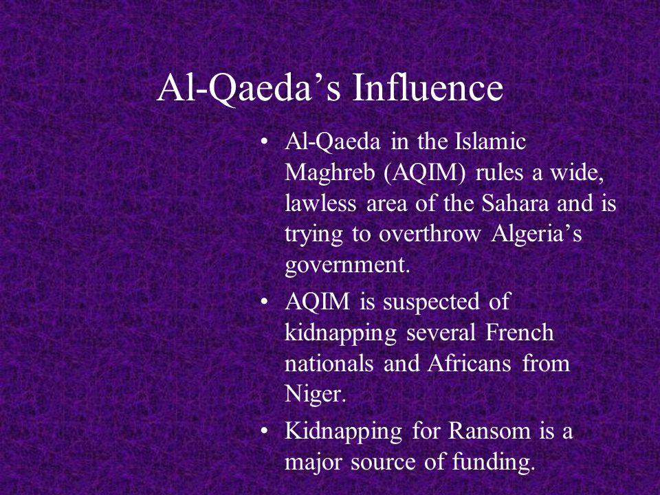 Al-Qaeda's Influence Al-Qaeda in the Arabian Peninsula (AQAP) – Yemen, has an English-language publication Inspire Magazine.