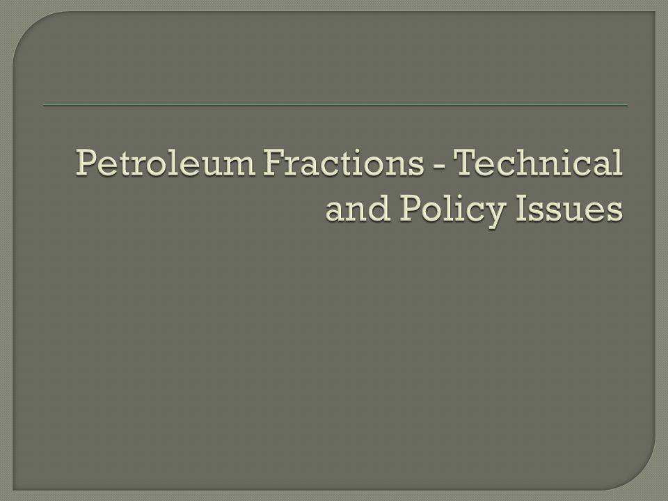 No technical basis for the petroleum maximum allowable concentrations Request to move the maximum allowable issue to phase 2 of the regulation revisions Objection to a rigid concept regarding maximum allowable concentrations Maximum allowable concentrations create unreasonable demand for cleanup and a marginal reduction in risk at high cost