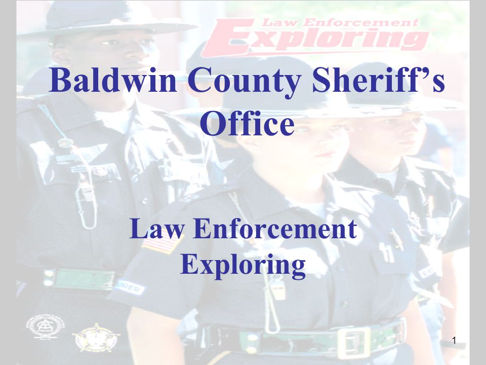 Baldwin County Sheriff's Office Law Enforcement Exploring 1