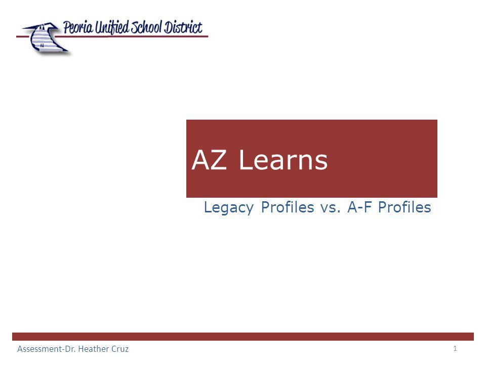 1 AZ Learns Legacy Profiles vs. A-F Profiles Assessment-Dr. Heather Cruz