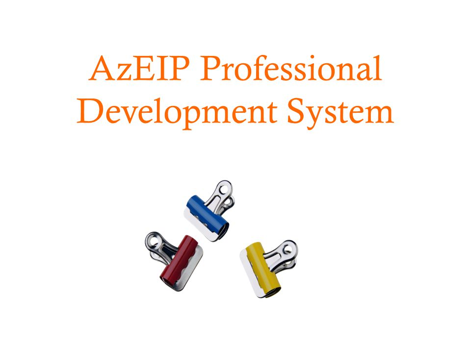 AzEIP Professional Development System