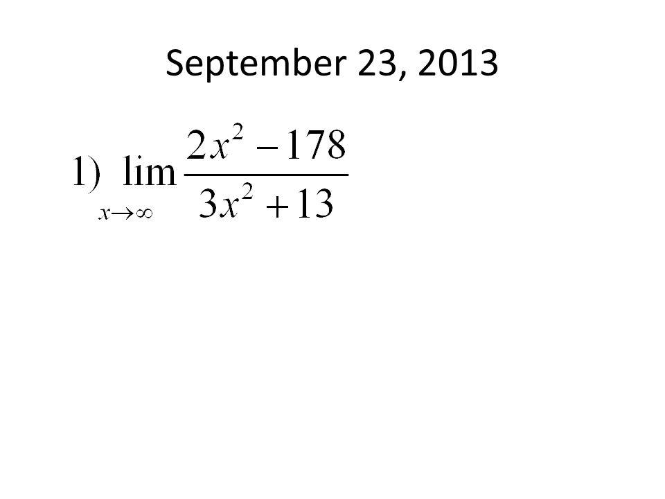 September 23, 2013