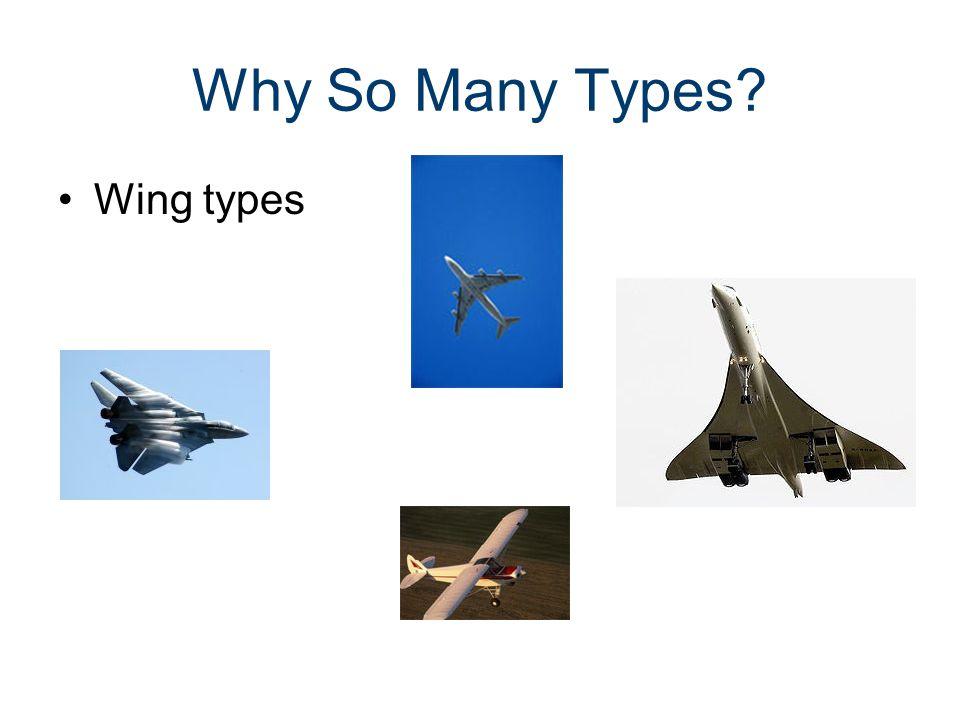 Why So Many Types.