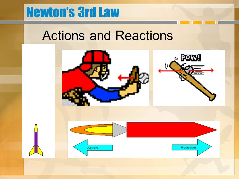 Newton's 3rd Law Actions and Reactions