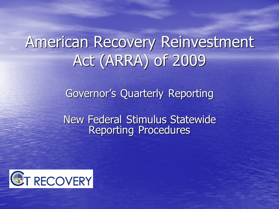 New Reporting Procedures Uploading Quarterly OMB Reports Uploading Quarterly OMB Reports Governor's Quarterly Reporting Governor's Quarterly Reporting – New spreadsheet templates ARRA Award - Application Request and Approval ARRA Award - Application Request and Approval ARRA Financial - FIN Activity ARRA Financial - FIN Activity ARRA Contracts - Contracts ARRA Contracts - Contracts – New spreadsheet upload process Field validations – what to expect Field validations – what to expect