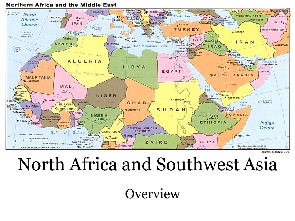 North Africa and Southwest Asia Overview
