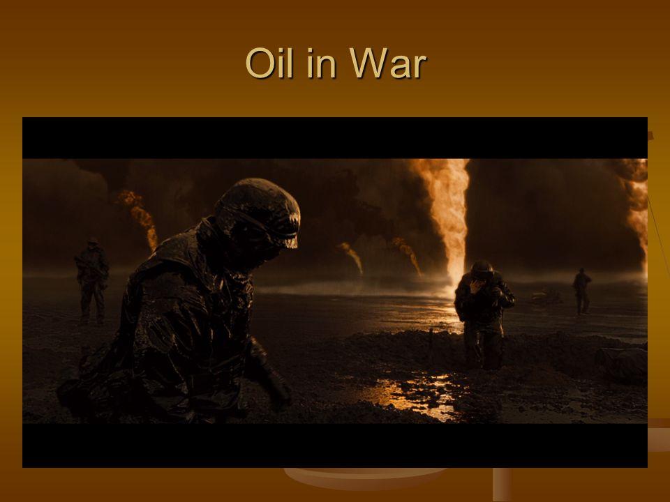 Oil in War