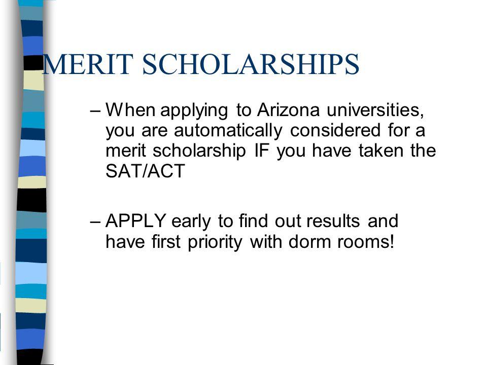 University Scholarship Programs President Barack Obama Scholars Program – $60,000 or less U of A Assurance Program - $42,400
