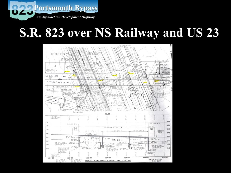 S.R. 823 over NS Railway and US 23
