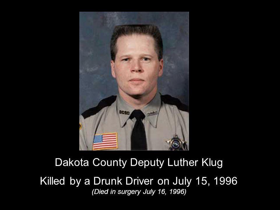 Scott County Deputy Joe Niemann, 37 years old Killed by a Drunk Driver on December 30, 2003