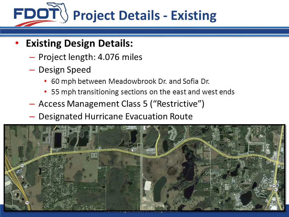 Florida Department of Transportation Section 1: Written Technical Proposal (8.5 x 11 , max.