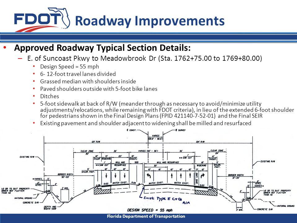 Florida Department of Transportation I.Introduction B.