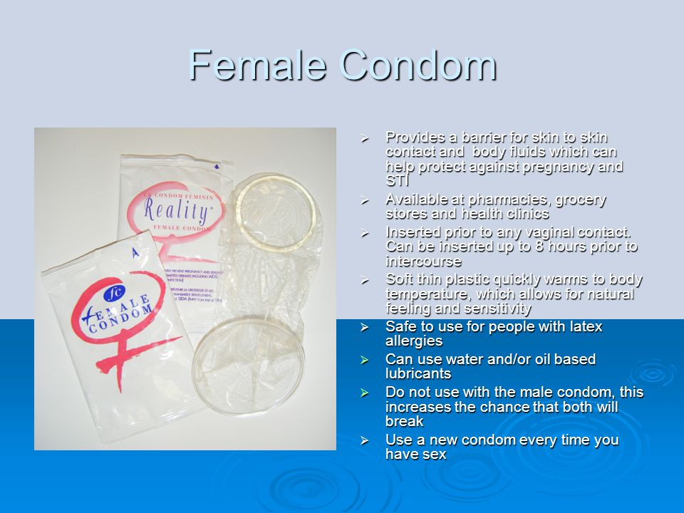 Contraceptive Spermicides   Vaginal spermicides are products containing an ingredient (Nonoxynol 9) that kills sperm on contact   Can be purchased at pharmacies and grocery stores   Inserted into the vagina before sex to help prevent pregnancy   Effectiveness varies greatly.