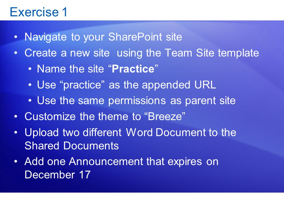 SharePoint Templates