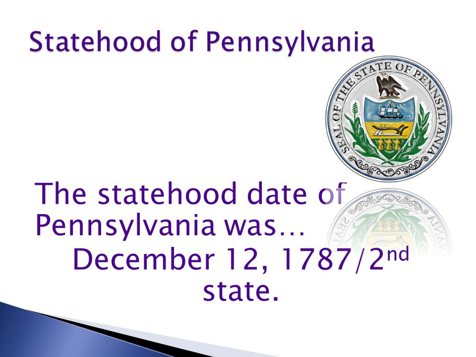 This state is in the Northeast Region.