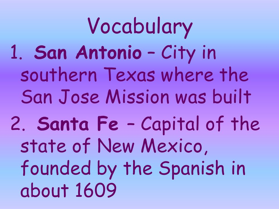 17.How did the Spanish missions affect the settlement of the Southwest.