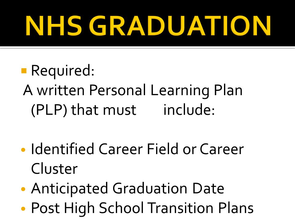 NHS ALL A's AWARD  ACADEMIC ACHIEVEMENT AWARD  SCIENCE DEPARTMENT AWARD  Check Requirements in the Registration Handbook (website) or student planner
