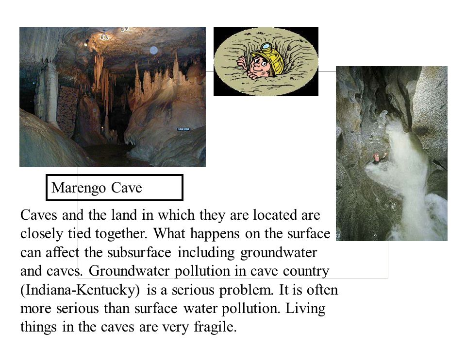 Caves and the land in which they are located are closely tied together.