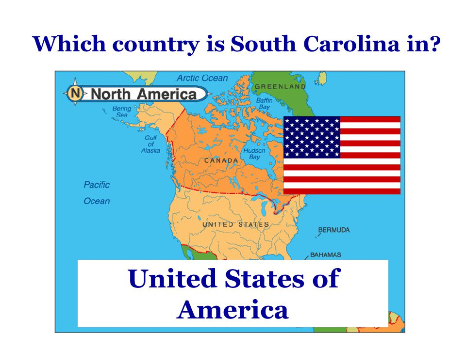 Which country is South Carolina in? United States of America