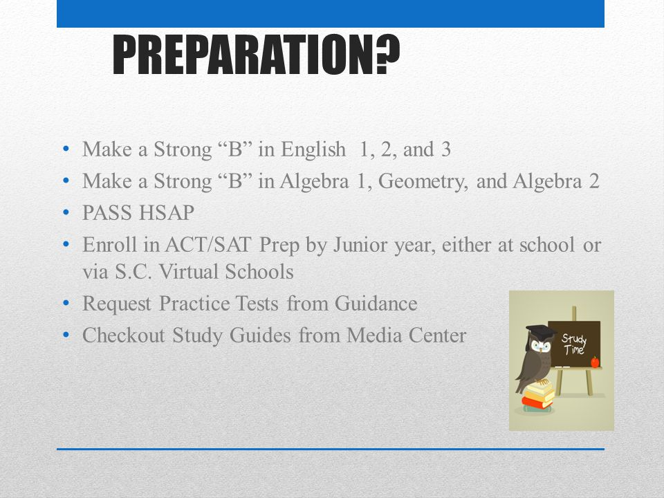 WHICH ONE? ACT SAT COMPASS SEE YOUR COUNSELOR TO MAKE THE BEST DECISION!