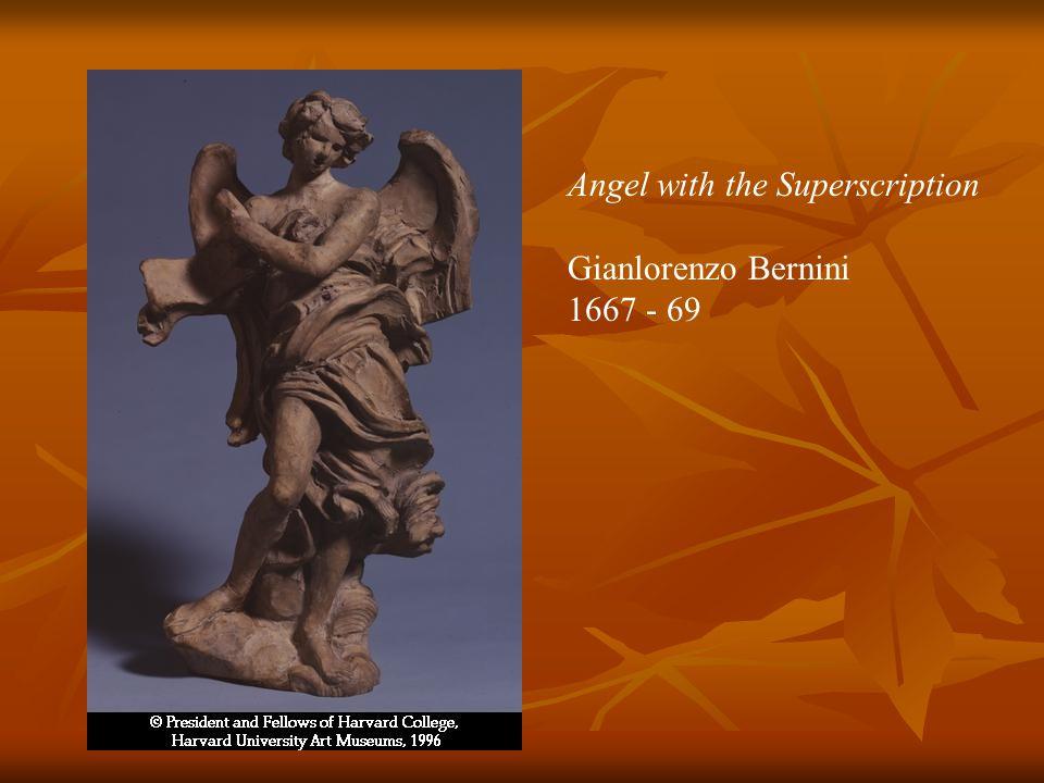 Angel with the Superscription Gianlorenzo Bernini 1667 - 69