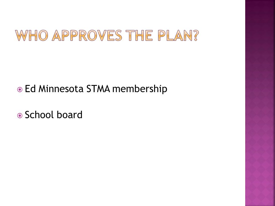  Ed Minnesota STMA membership  School board