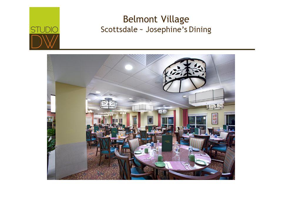 Belmont Village Scottsdale ~ Josephine's Dining