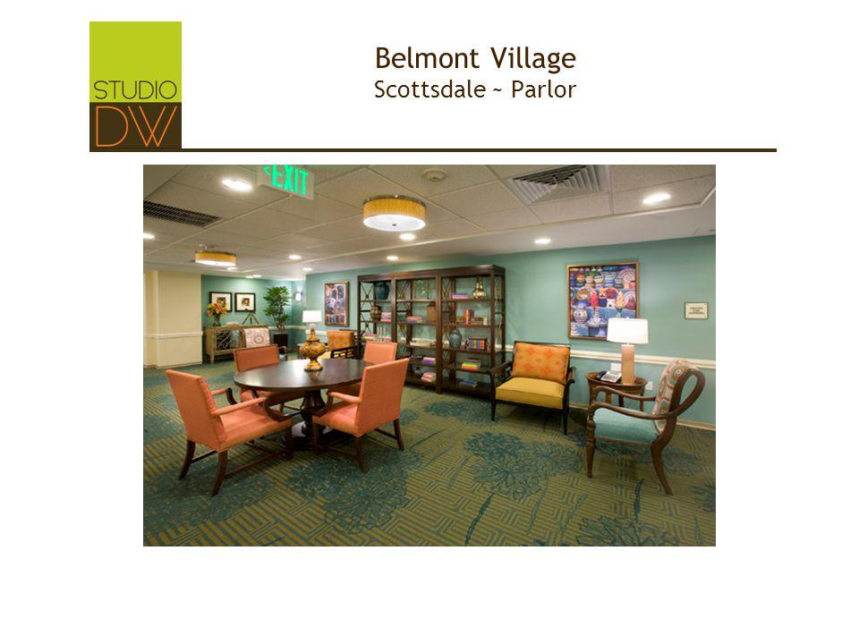 Belmont Village Scottsdale ~ Parlor
